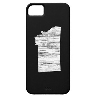 Distressed Montana State Outline iPhone SE/5/5s Case