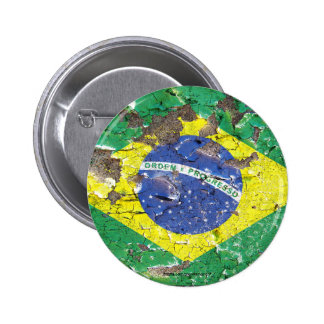 Distressed Nations™ - Brazil (button)