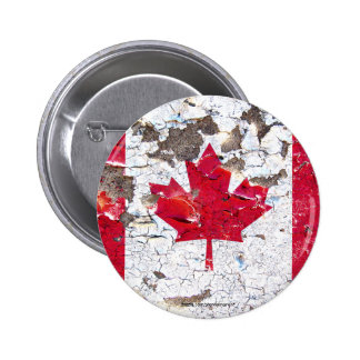 Distressed Nations™ - Canada (button)