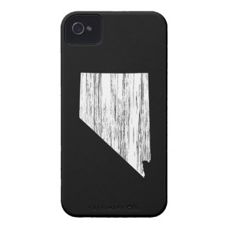 Distressed Nevada State Outline iPhone 4 Case