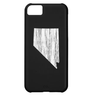 Distressed Nevada State Outline iPhone 5C Covers