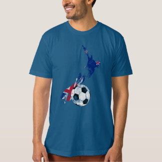 Distressed New Zealand Soccer T-Shirt
