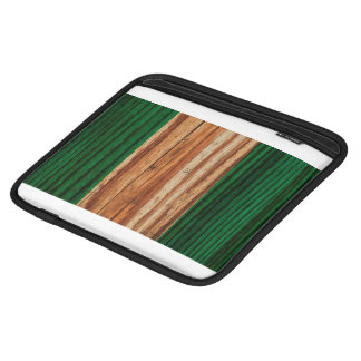 Distressed Nigeria Flag Sleeve For iPads