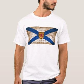Distressed Nova Scotia Flag T-Shirt