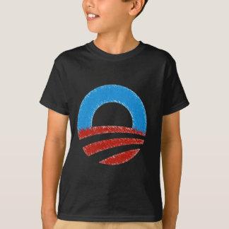 Distressed Obama Symbol T-Shirt