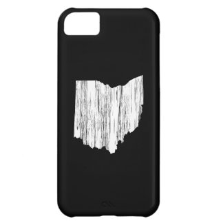 Distressed Ohio State Outline iPhone 5C Case