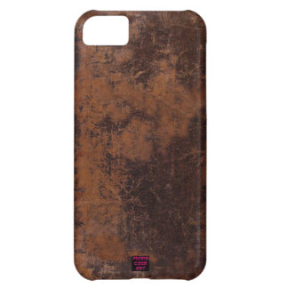 Distressed Old Leather look Cell Phone Cases Cover For iPhone 5C