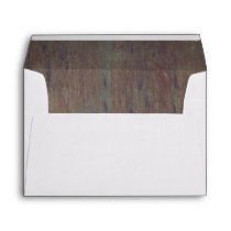 Distressed Old Rustic Barn Wood Envelope