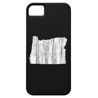 Distressed Oregon State Outline iPhone SE/5/5s Case