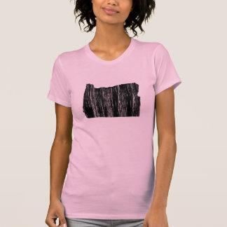 Distressed Oregon State Outline Shirt