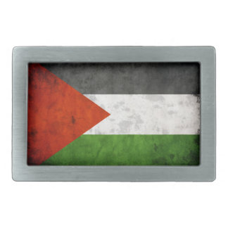 Distressed Palestine Flag Belt Buckle
