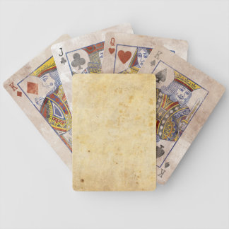 Distressed Paper Playing Cards