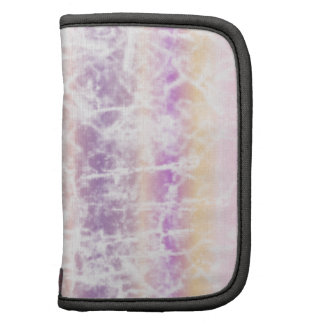 Distressed Pastel Art with Pink, Purple and White Organizers