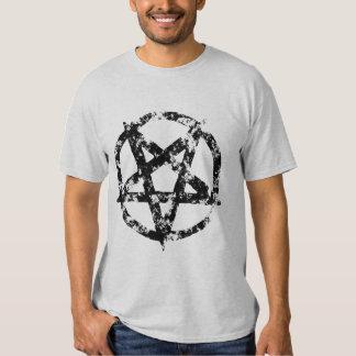 Distressed Pentagram t-shirt