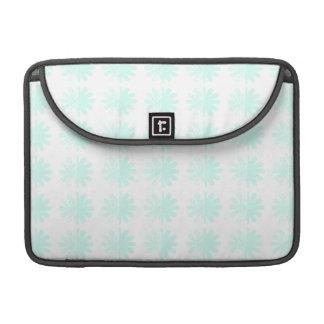 Distressed Petal Snowflake  Modern Pattern Sleeves For MacBooks