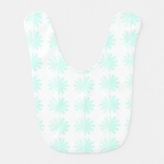 Distressed Petal Snowflake Pattern Bib