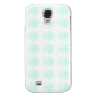 Distressed Petal Snowflake Pattern Samsung Galaxy S4 Cover