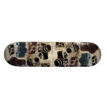 distressed photographer photography retro Camera Skateboard Deck