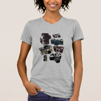 distressed photographer photography retro Camera T-Shirt