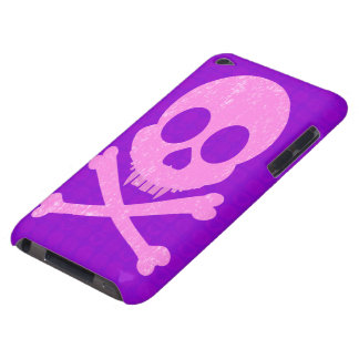 Distressed Pink Skull iPod Touch Case