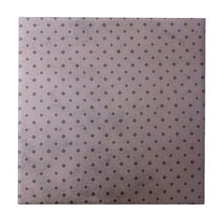 Distressed polka tiles