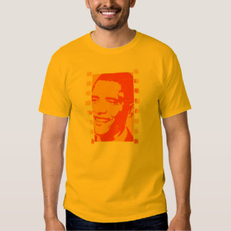 DISTRESSED PRESIDENT OBAMA T SHIRT