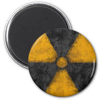 Distressed Radiation Symbol Magnet