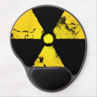 Distressed Radiation Symbol Mousepad Gel Mouse Pad
