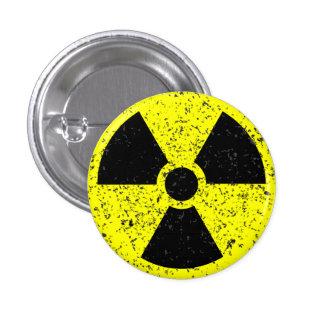Distressed radioactive warning button