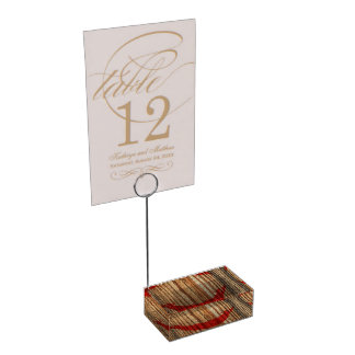 Distressed Rapa Nui Flag Table Card Holders