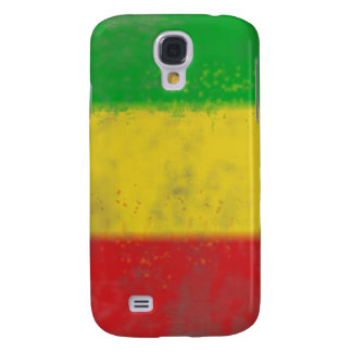 Distressed Rasta Stripes Samsung Galaxy S4 Case
