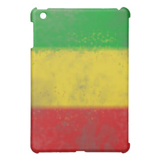 Distressed Rasta Stripes Case For The iPad Mini
