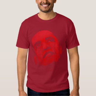 Distressed Red Obama TShirt