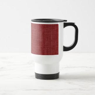 Distressed Red Pattern Mug