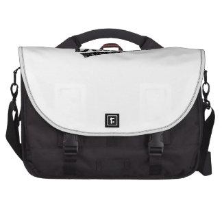 Distressed Retro Detroit Logo Laptop Commuter Bag
