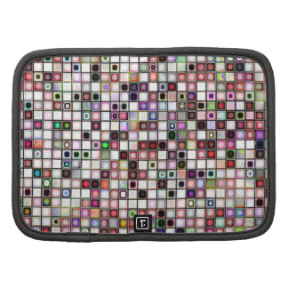 Distressed Retro Jewel Tones Mosaic Tiles Pattern Planners