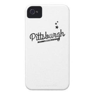Distressed Retro Pittsburgh Logo Case-Mate iPhone 4 Case
