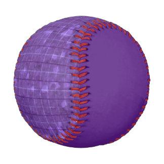 Distressed Retro Plaid Grunge Purple Baseball