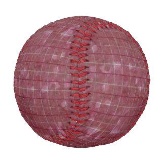 Distressed Retro Plaid Grunge Rose Baseball