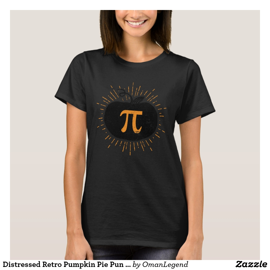 Distressed Retro Pumpkin Pie Pun Joke T-Shirt - Best Selling Long-Sleeve Street Fashion Shirt Designs