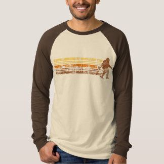 Distressed Retro Sasquatch Shirt