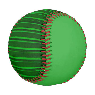 Distressed Retro Stripe Green Baseball