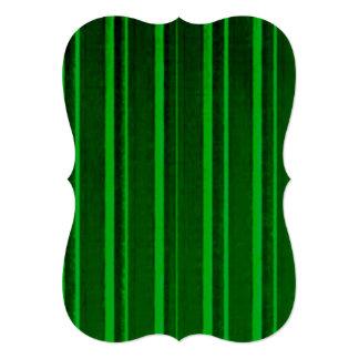 Distressed Retro Stripe Green Cards