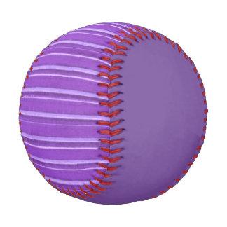 Distressed Retro Stripe Lavender Purple Baseball
