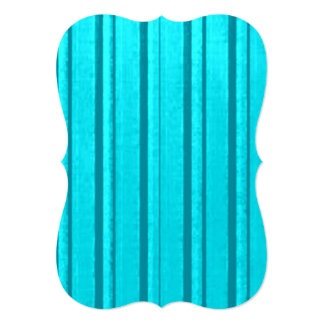 Distressed Retro Stripe Retro Teal Turquoise Personalized Announcement