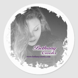 Distressed Round Stickers - Customized