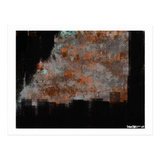 Distressed Rust 13 Postcard