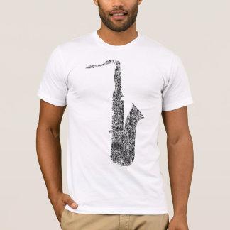 distressed saxophone T-Shirt