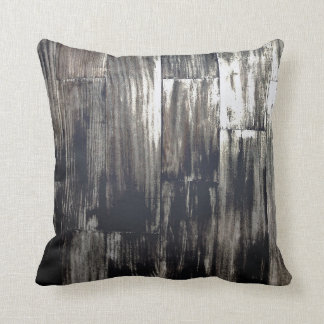 DISTRESSED SILVER WOOD THROW PILLOWS