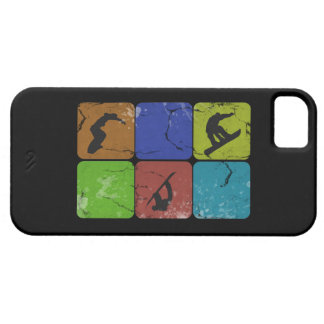Distressed Snowboarding iPhone 5 case